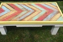 Drewniane ręcznie robione