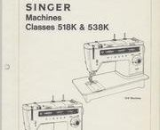 1 Sew-vintage Singer attachments & manuals