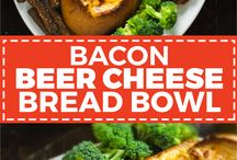 beer cheese bread bowl