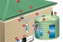 nedløbsrør vand til hus