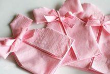 Baby shower torte pink