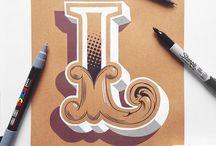 Letter L / representations of the letter L