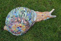 Mosaikkunst - Mosaic Art - Mosaics / Mosaikkunst - Mosaic Art - Mosaics - Mosaike - Mosaiques
