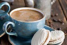 чай, кофе, утро доброе.