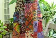 Patchwork skirts