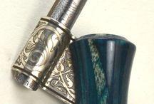 Oblique pen