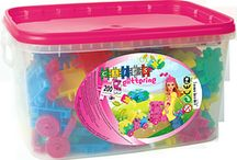 Clics Toy  / Imported from Belgium, Clics is an educational building toy promoting fine motor skills and creativity.