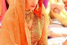 Orange bride