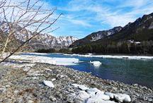 Весной у реки Катунь