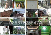 bajaringan,plafon,baja berat,kanopi di Jateng-DIY / klik aja www.bajaringanjateng.com