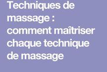 Massages Techniques