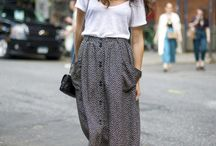 Vintage/casual style / Comfy trends for day by day.