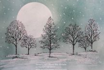 stampin up - lovely as a tree