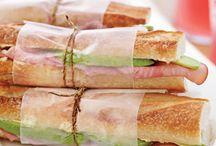 Sandwiches / Hot & cold sandwiches