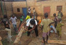 La Jardinière - Ristorante in Burkina Faso / Auto costruzione del Ristorante eco-comunitario  La Jardinière in Burkina Faso, previsto tra le attività del progetto RASA. Sarà un ristorante immerso in un orto biologico. Ecco il fotoracconto del processo di costruzione
