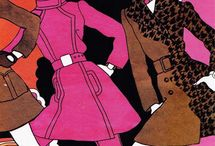 Sixties - Swining London Illustrations