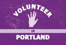 Volunteer in Portland / While you study English here, find volunteer opportunities.