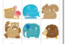 calendrier kawaii