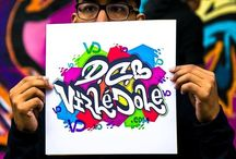 Virlè Cole creative branding at the DC Paint Jam by #wordsbeatsandlife