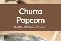 Popcorn Recipes and Treats
