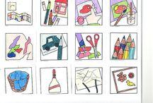 cedule,obrazky do třídy