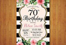 aniversário 70 anos