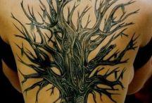 Baum-Tätowierungen