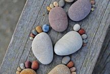 Rock Art and garden stones / by Joyce Marker