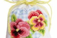 sacchettino con fiori