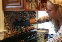 kitchen make over / by Adrienne Hart