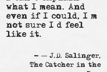 Novel & Poetry quotes