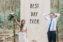 Ceremony | Wedding Ceremony Backdrops / Make your wedding ceremony space stand out with our favourite ideas for your wedding ceremony decorations and details.