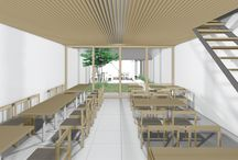 祇園の茶室カフェ / 設計・監理:近藤晃弘建築都市設計事務所