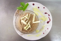 Ambiez Restaurant Dishes / Here are some dishes created by the restaurant of the Residence Hotel Ambiez