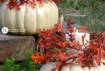 fall decorations, jesienne dekoracje