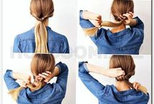 updo hairstyles-easy