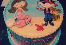 karli verjaar Mermaid theme birthday