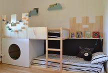 Habitación para OyH / Una habitación para sus 3 años