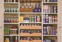 Basement/pantry / by Stephanie Alcock