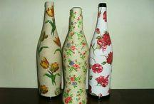 Mis botellas decoradas