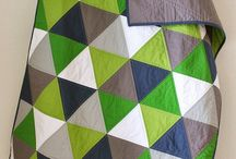 Equilateral Triangle Quilts