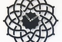 Oriental clock ARABESQUE / Wall clock Twister - Metal laser cutting - Design Jacques Lahitte © Tolonensis Creation - French Design - Made in Poland - www.tolonensis.com - You are interested with this clock ? Feel free to contact info@tolonensis.com -  http://www.delorentis.eu/oriental-clock-arabesque.html  !! Warning to Ugly poor quality copy on the Net !!