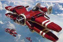 Dizelpunk aircrafts / Dizelpunk aircrafts