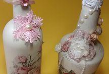 garrafas personalizadas / garrafas lindas e fofas