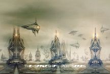 The Spaceships A_00 Series Posters