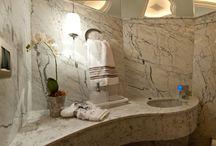 Decoração de interiores - lavabos de luxo!