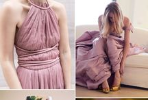 Dusty Rose, Dusty Cedar And Mustard Wedding Color Inspirations