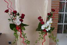 Décoration florale pour mariage / Décoration florale pour mariage