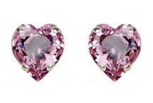Boucles d'oreilles 1 argent 925 / Boucles d'oreilles en argent 925 avec cristal de Swarovski, perles d'eau douce et une multitude de couleurs