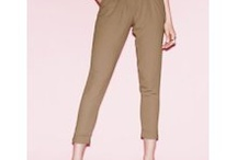 High-waisted trousers / by Annalise Bzowska